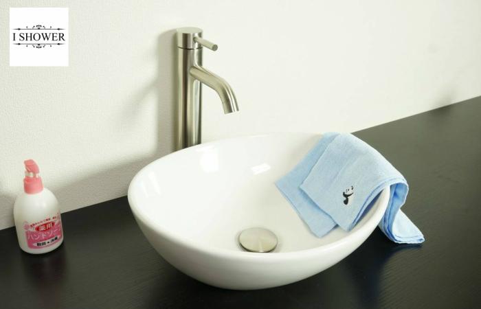 【洗面器 8021】お買得3点セット/洗面ボウル+排水栓+選べる排水トラップ(S床/P壁)