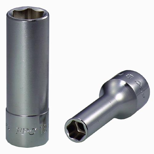 "FPC 9.5 毫米 (3 / 8"") 平方米苗条 palablalongsoket 扳手套 [5 件 (8-10-12-13-14),3PD-S5H (Flash 工具产品)。"