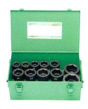 FPC 6WS-S11 インパクト ショートソケット セット 差込角 19.0mm 11pcs