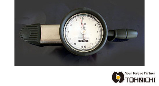 東日 DB12N4-S 差込角6.35sq. ダイヤル形 トルクレンチ 1-12N.m (置針付) TOHNICHI / 東日製作所