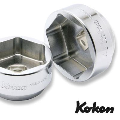 """柯肯 4400 米-46DU 1 / 2""""平方短超后方车轮螺母套接字 (杜卡迪) 46 毫米 Koken Koken / 山下大学"""