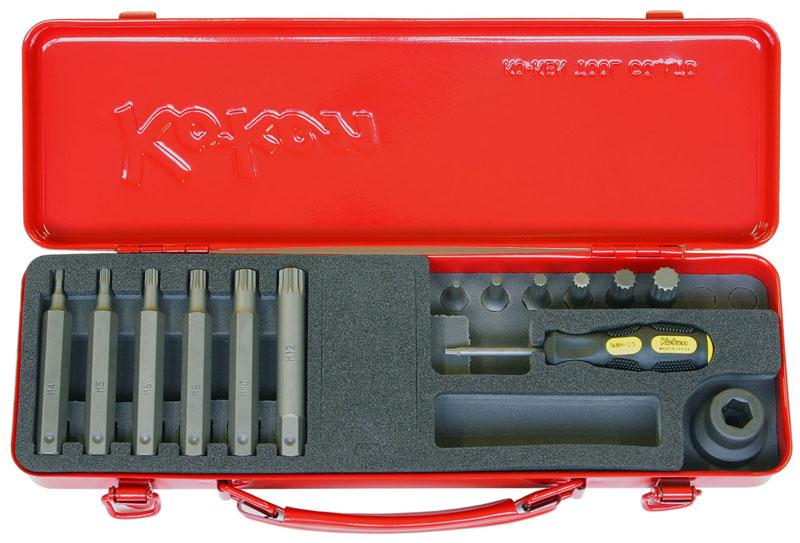 Ko-ken 14204X 1/2 (12.7mm)sq. インパクト 3重4角 ビットソケットセット 14ヶ組 コーケン / 山下工研
