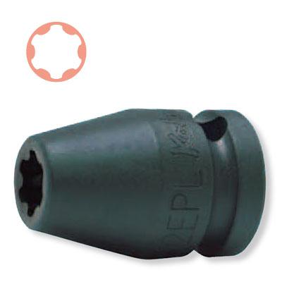 "Ko-ken 13425-8EPL 3/8""sq. 冲击扭矩加插口8EPL KO-KEN Koken/山下工研究室"