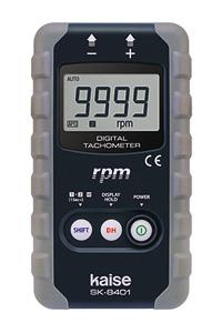 KAISE カイセ デジタル回転計 SK-8401 (センサーを当てるだけの簡単測定)
