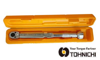 東日 QL100N4-MHZ ラチェット付プリセット形 トルクレンチ 20~100N.m (純正収納ケース付セット) TOHNICHI / 東日製作所