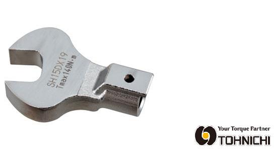 東日 トルクレンチ 交換 ヘッド SH32DX34 SH型 オープンヘッド (スパナヘッド) 34mm TOHNICHI / 東日製作所