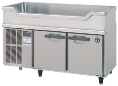 【ホシザキ】 【業務用】【新品】舟型シンク付コールドテーブル(冷蔵)RW-120SNC単相100Vメーカー1年保証