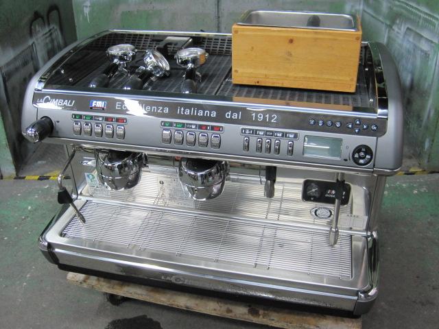 【エフエムアイ】【業務用】【中古】 エスプレッソマシン M39TE-DT/2(TS)◎ 三相200V自社6ヶ月保証