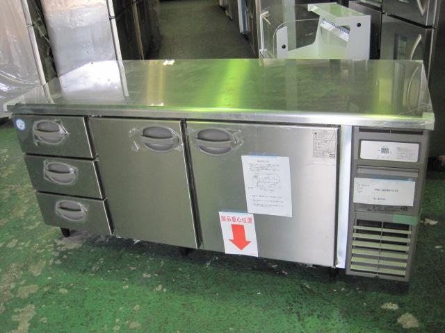 2018年製【フクシマ】【業務用】【新品】 冷蔵コールドテーブル YRW-180RM2-D**** 単相100Vメーカー1年保証