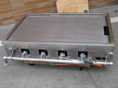 【中古】グリドル 都市ガス W1200×D750(+130)×H300mm  自社6ヶ月保証