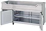 【ホシザキ】 【業務用】【新品】舟形シンク付コールドテーブル(冷蔵)RW-150SNC単相100Vメーカー1年保証