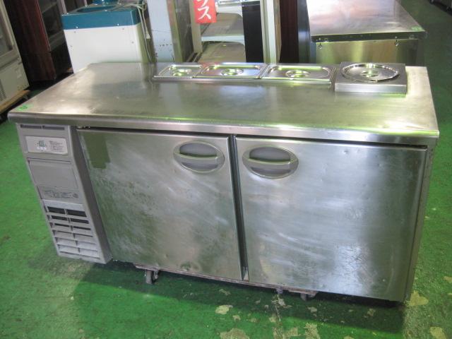 2011年製【フクシマ】【中古】冷蔵サンドイッチコールドテーブルYRC-150RE****単相100V単相100V5060Hz共用自社6ヶ月保証