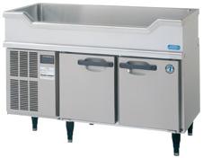 【ホシザキ】 【業務用】【新品】舟形シンク付コールドテーブル(冷蔵)RW-120SNC-T単相100Vメーカー1年保証