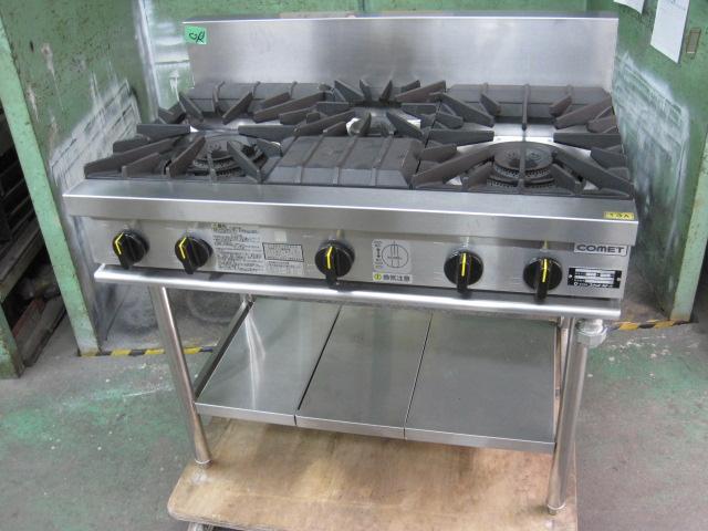 2014年製【コメットカトウ】【業務用】【中古】 ガステーブル XY-960T 都市ガス自社6ヶ月保証
