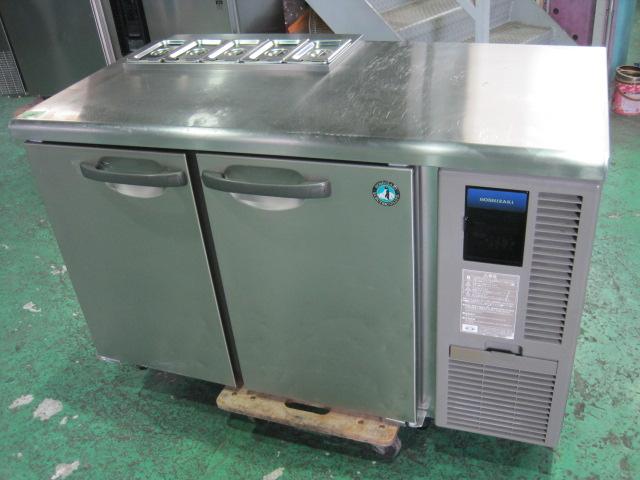 2012年製【ホシザキ】【業務用】【中古】 サンドイッチ冷蔵コールドテーブル RT-120SNF-RML◎ 単相100V自社6ヶ月保証