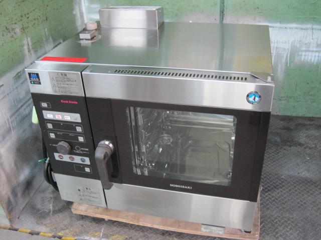 2014年製【ホシザキ】【業務用】【中古】 スチームコンベクションオーブン MIC-5TB-GA プロパンガス/単相100V自社6ヶ月保証