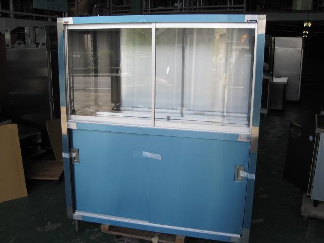 【W1500xD600xH1800mm】【業務用】【未使用新古品】 食器棚 C2657