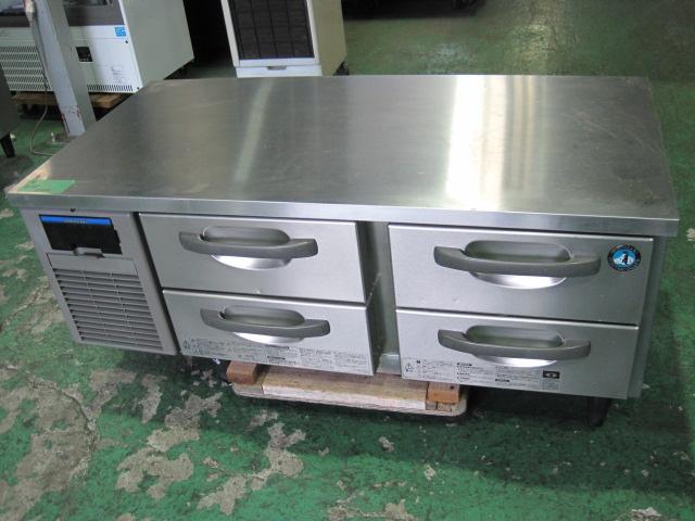 2015年製【ホシザキ】【業務用】【中古】 ドロワー冷蔵コールドテーブル RTL-120DNF◎ 単相100V自社6ヶ月保証