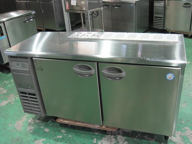 2016年製【フクシマ】【業務用】【中古】 サンドイッチ冷蔵コールドテーブル YSC-150RE2-B**** 単相100V自社6ヶ月保証