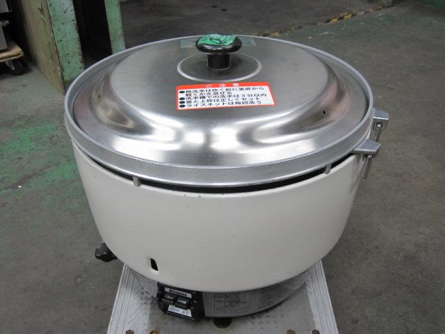 2017年製【リンナイ】【業務用】【中古】 炊飯器 RR-50S1-F 都市ガス自社6ヶ月保証