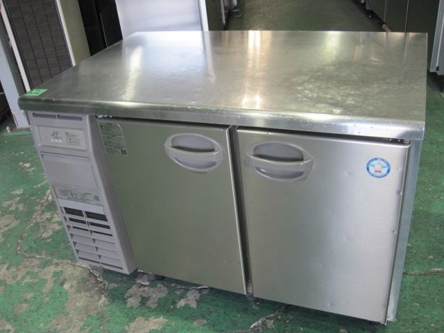 2015年製【フクシマ】【業務用】【中古】 冷蔵コールドテーブル YRW-120RM2**** 単相100V自社6ヶ月保証