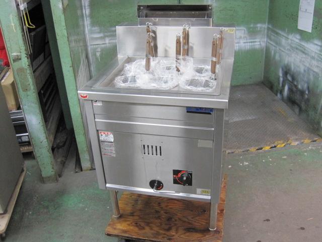 【マルゼン】【業務用】【中古】 ゆで麺機 MRK-066B 都市ガス 排気筒H255mm自社6ヶ月保証