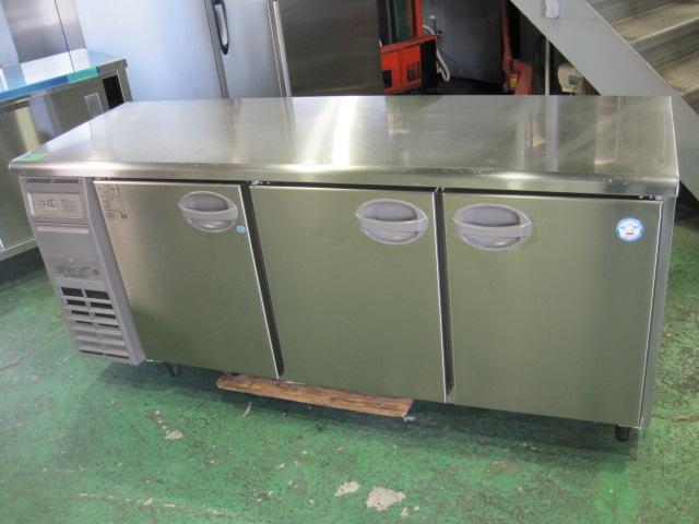 2018年製【フクシマ】【業務用】【中古】 冷凍冷蔵コールドテーブル YRC-181PM2◎ 単相100V自社6ヶ月保証