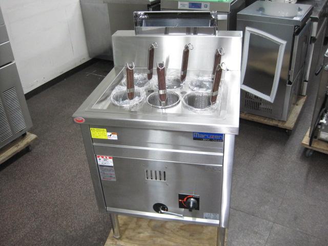 2019年製【マルゼン】【業務用】【未使用新古品】 ゆで麺機 MRK-066B 都市ガス自社1年保証