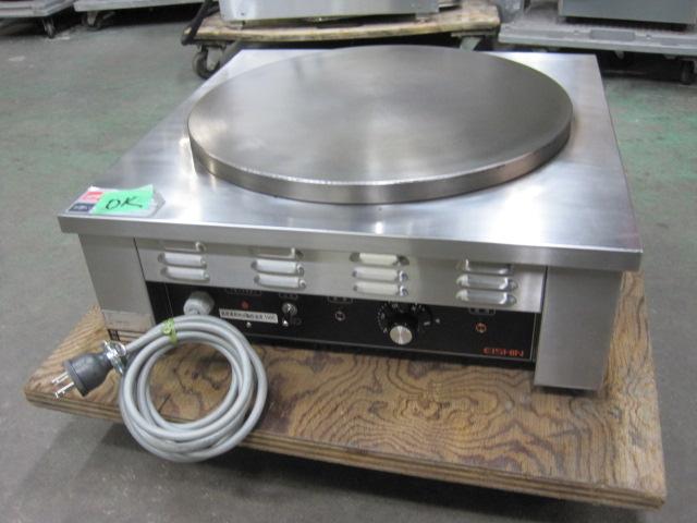 2014年製【エイシン】【業務用】【中古】 クレープ焼器 EC-1000 単相100V自社6ヶ月保証