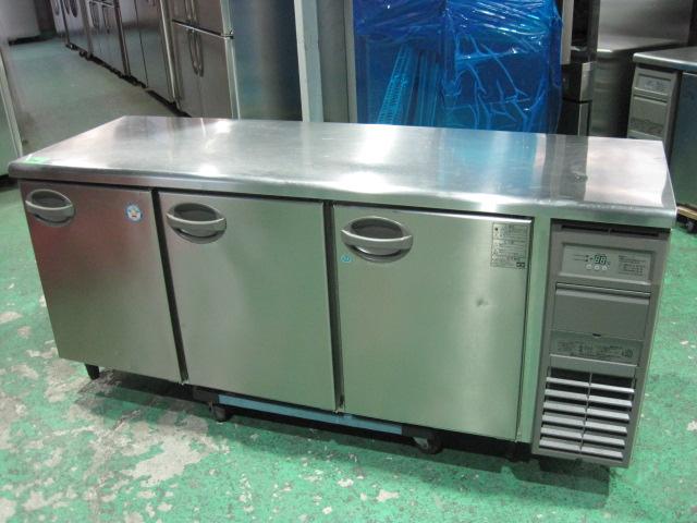 2017年製【フクシマ】【業務用】【中古】 冷凍冷蔵コールドテーブル YRC-181PM2-R◎ 単相100V自社6ヶ月保証