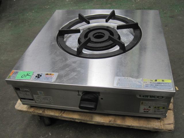 2010年製 【中古】【タニコー】 ガスコンロ TGU-50 プロパンガス  自社6ヶ月保証