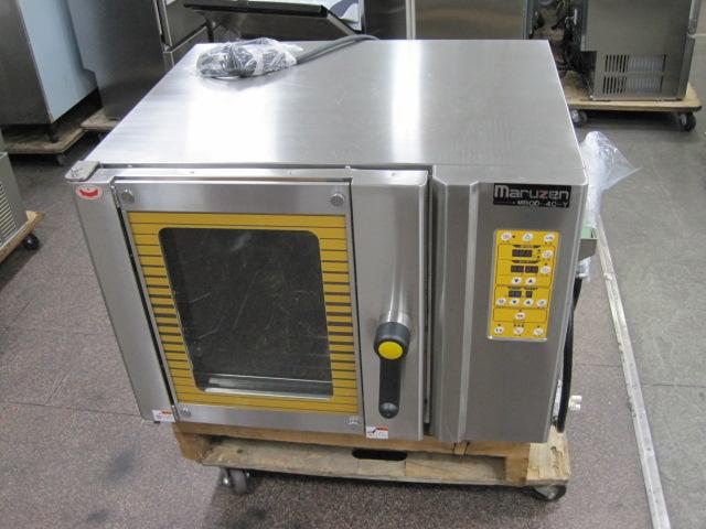 2010年製【マルゼン】【業務用】【中古】 ベーカリーコンベクションオーブン MBCO-4C-Y 三相200V自社6ヶ月保証