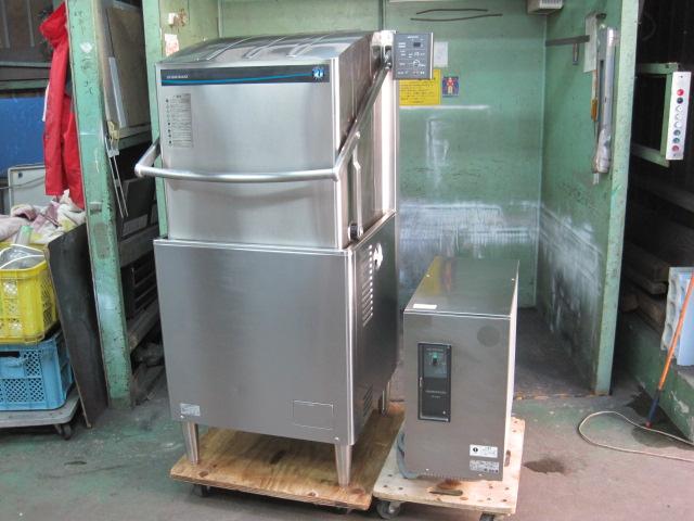 2018年製/2018年製 【ホシザキ】【業務用】【中古】 食器洗浄機(ブースター付) JWE-680B* 三相200V ※50Hz専用 自社6ヶ月保証