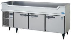 【ホシザキ】新品舟形シンク付コールドテーブル(冷蔵)RW-180SNC-T単相100Vメーカー1年保証