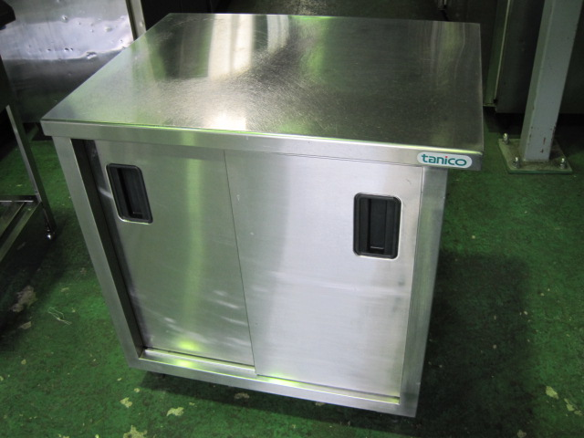 【W780xD600xH800mm】【業務用】【中古】 調理台 C1764