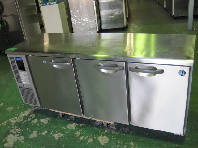 2016年製【ホシザキ】【業務用】【中古】 冷凍冷蔵コールドテーブル RFT-180SNF-E◎ 単相100V自社6ヶ月保証