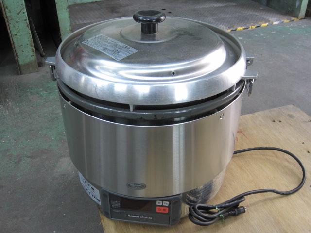 2016年製【リンナイ】【業務用】【中古】 炊飯器 RR-30G2 都市ガス/単相100V自社6ヶ月保証