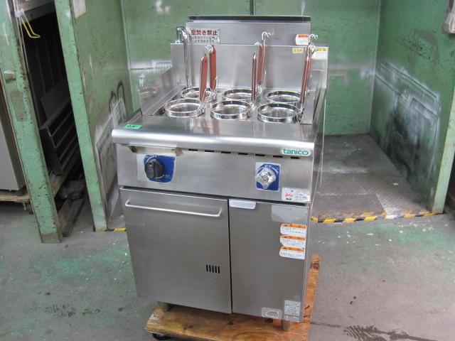 2012年製【タニコー】【業務用】【中古】 ゆで麺機 TU-60N プロパンガス自社6ヶ月保証