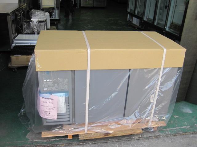 2019年製【パナソニック】【業務用】【新品】 冷凍コールドテーブル SUF-K1261SA* ※センターピラーなし 単相100Vメーカー1年保証