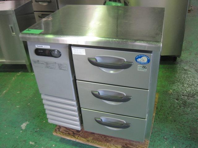 2015年製 【パナソニック】 中古ドロワー冷蔵コールドテーブル SUR-DG761-3A◎ 単相100V 自社6ヶ月保証
