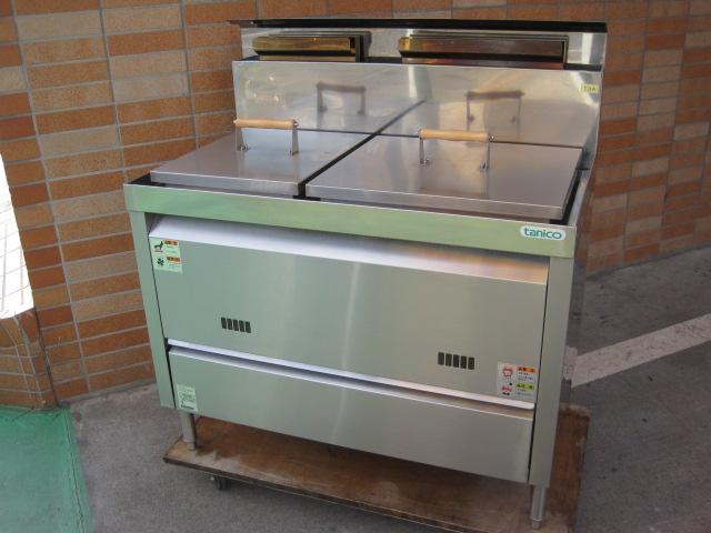 2011年製 【中古】【タニコー】 ゆで麺機 TKU-100W 13A *  自社6ヶ月保証