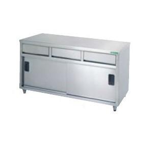 【タニコー】 【業務用】【新品】【W1500xD600xH800mm】調理台TX-WCT-150DNBバックガードなし
