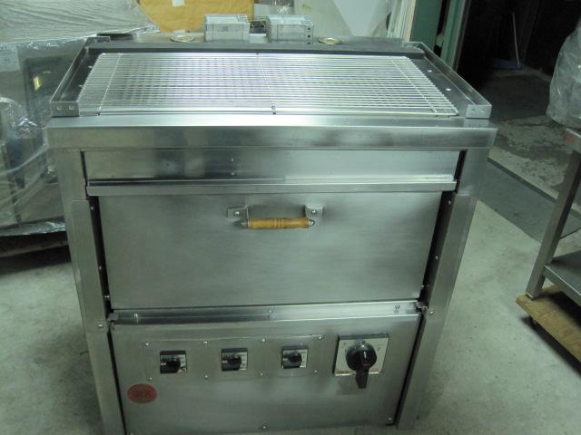 【中古】【ヒゴグリラー】焼き鳥焼器GO-15ヒゴグリラー三相200V自社6ヶ月保証