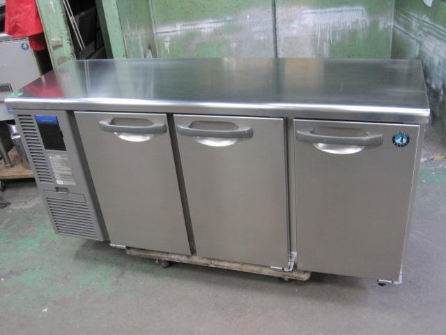 2017年製【ホシザキ】【業務用】【中古】 冷蔵コールドテーブル RT-150MTF 単相100V自社6ヶ月保証