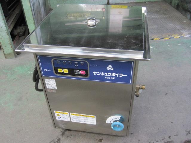 2006年製【品川工業所】【業務用】【中古】 電気蒸し器 ESB-S6K* 三相200V自社6ヶ月保証