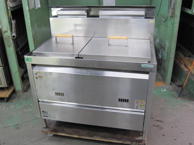 2009年製 【中古】【タニコー】 ゆで麺機 TKU-100W 都市ガス*  自社6ヶ月保証
