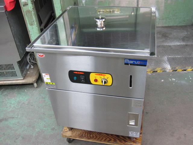2015年製 【マルゼン】【中古】 電気蒸し器 MUSE-066NU* 三相200V 自社6ヶ月保証