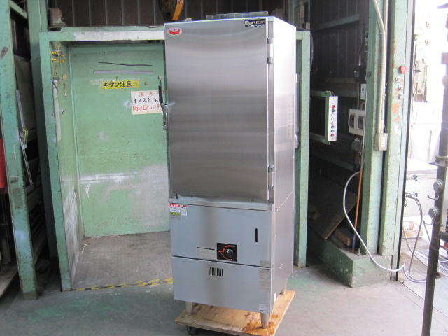 2012年製【マルゼン】【業務用】【中古】 蒸し器 MUC-066CNU* 都市ガス自社6ヶ月保証