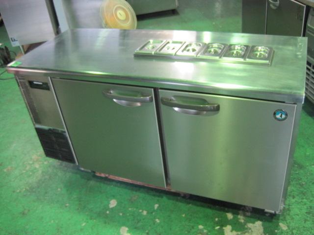 2010年製【中古】【ホシザキ】コールドテーブル(冷蔵)RT-150SNEサンドイッチタイプ◎単相100V自社6ヶ月保証