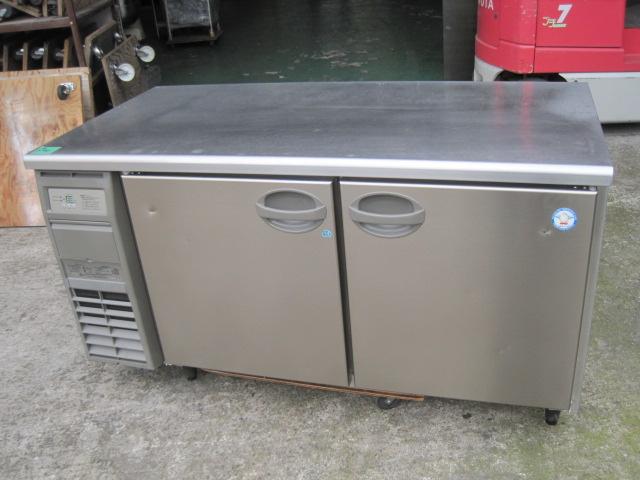 2015年製 【フクシマ】【業務用】【中古】冷凍冷蔵コールドテーブル YRW-151PM2**** 単相100V 自社6ヶ月保証